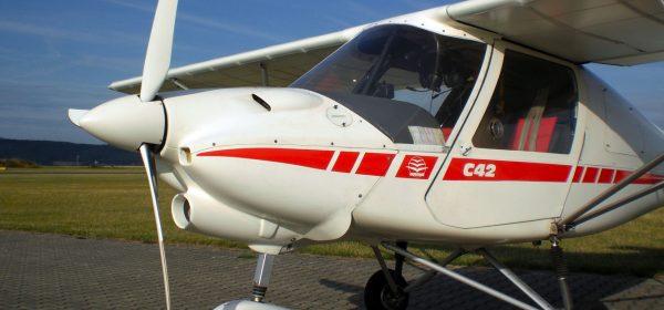 Sucht neues Revier: Ikarus C-42 B
